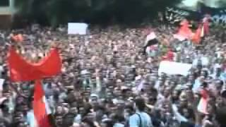 Egyptian Revolution Massive protests  VICTORY 2011!.flv Thumbnail