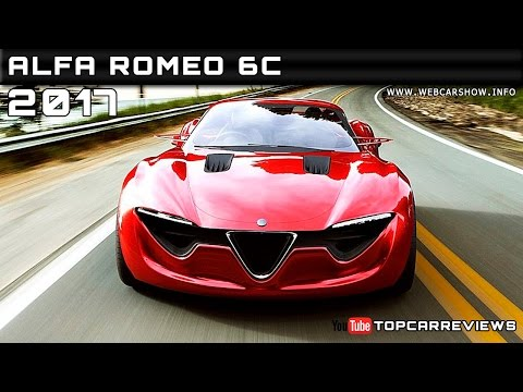 2017 Alfa Romeo 6C Review Rendered Price Specs Release Date