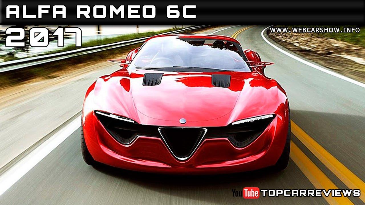 2017 Alfa Romeo 6c Review Rendered Price Specs Release