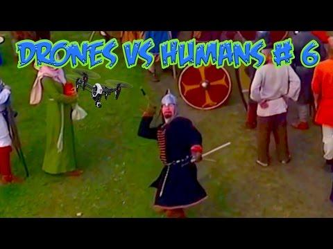 Top 5 Drones vs Humans # 6