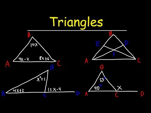 Triangles - Basic Introduction, Geometry