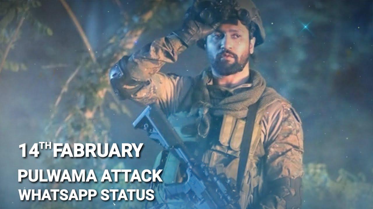 14th Fabruary ( Pulwama Attack ) Army WhatsApp Status 2020 ...