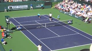 Tsonga vs Raonic Indian Wells 2013