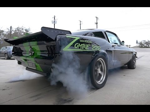 1968 All-Electric Mustang Fastback - Zombie 222