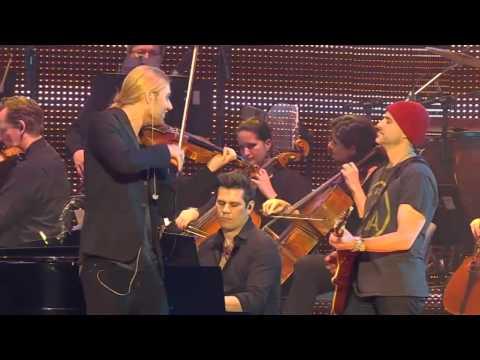 Live from Hannover - David Garrett plays Viva la Vida from his new Album
