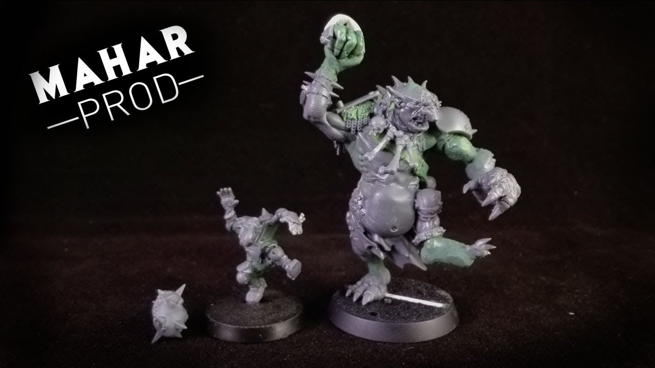 Blood Bowl-Equipe Orc-Thrower