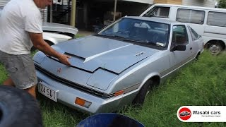 In the Weeds: 1982 Mitsubishi Starion (Series 1 JA) - 4G54 2.6l