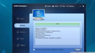 How to Create Complete System Backup and Restore Using AOMEI Backupper