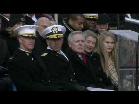 Secretary of the Navy Mabus Departure Ceremony