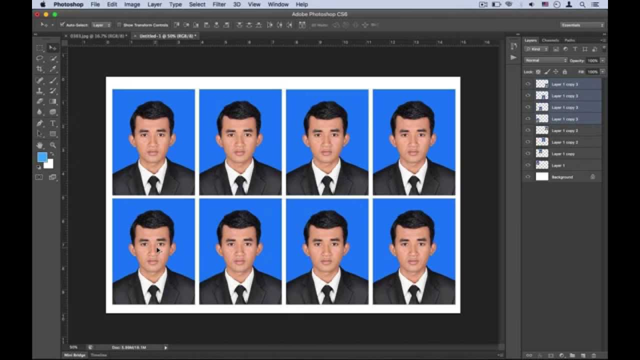 how to cut 4x6 picture in photoshop cs6 youtube