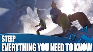 Steep PS4 Gameplay - Everything You Need To Know