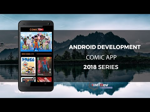 Android Development Tutorial - Comic Reader App Part 1  Backend Programing And Load Banner