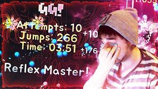 """YATAGARASU"" 100% (EXTREME DEMON) | 4448 Attempts | Geometry Dash"