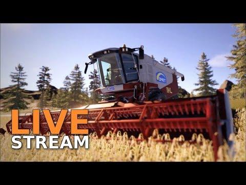REAL FARM [Linux] - Ich bin nun Bauer [Livestream]