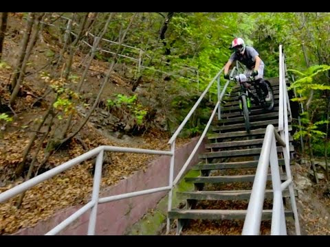 Urban Downhill Mountain Biking with Filip Polc