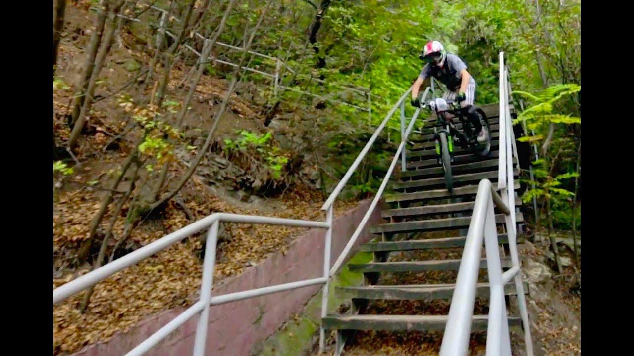Urban Downhill Mountain Biking With Filip Polc Youtube