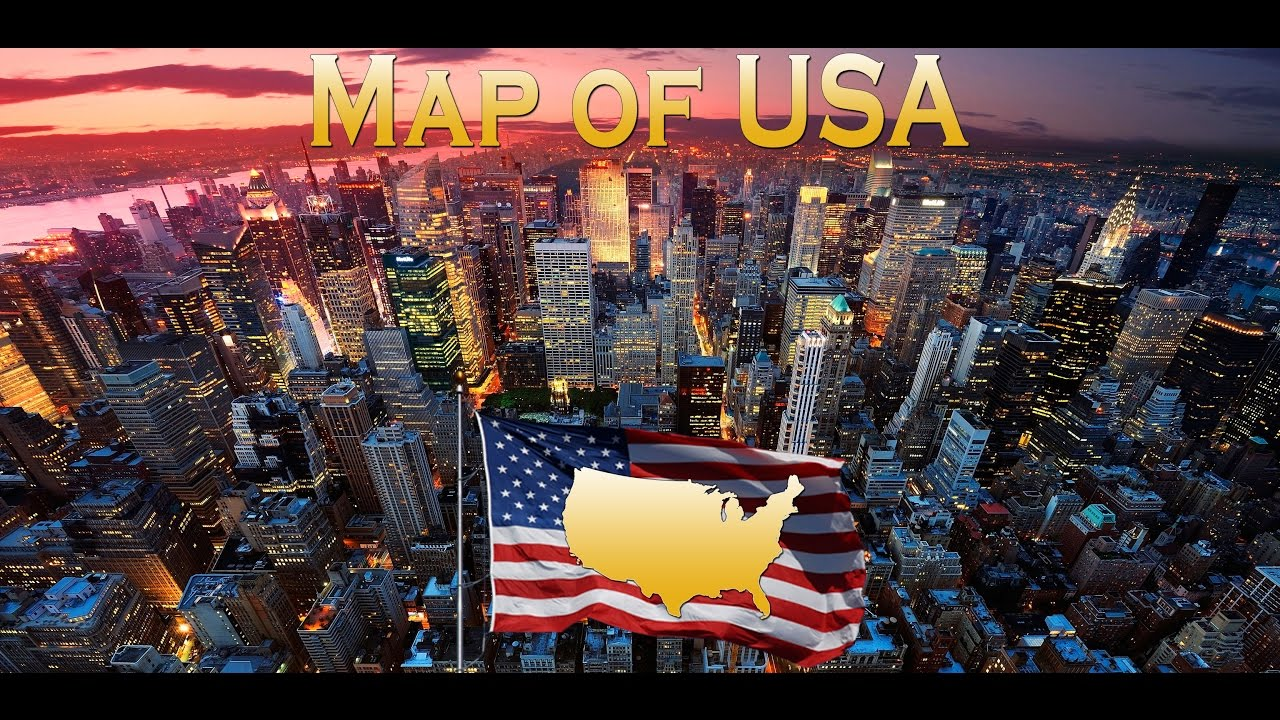 Map of USA - Best FREE GPS navigator with offline maps using GPS tracking  for navigation!