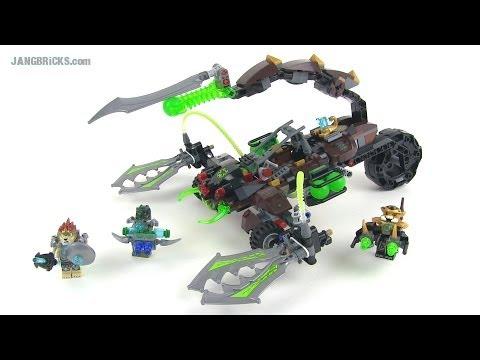 Lego Chima Scorms Scorpion Stinger 70132 Set Review Youtube