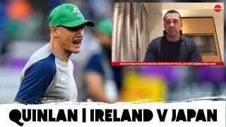 Alan Quinlan: Scrum complaints | Japanese threat | Catching snakes | Ireland v Japan