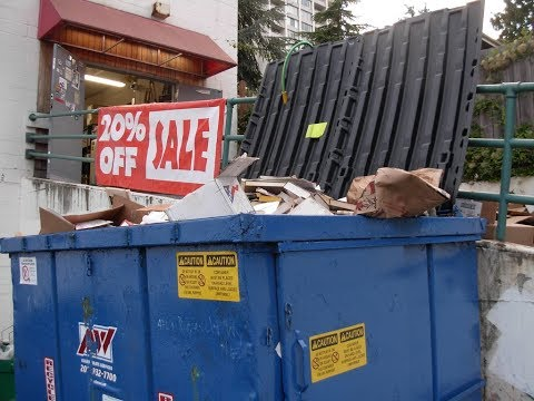 $3500 from a dumpster?! Amazing garbage find! the things people throw away...