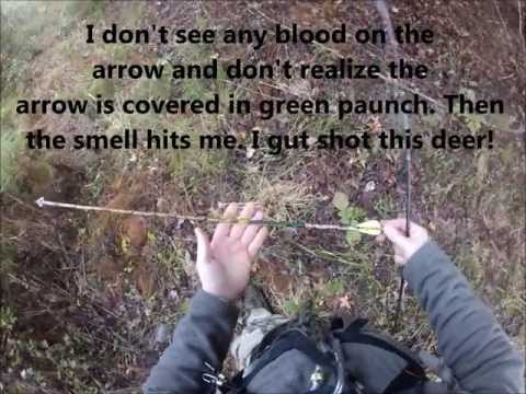 How NOT To Track A Gut Shot Deer