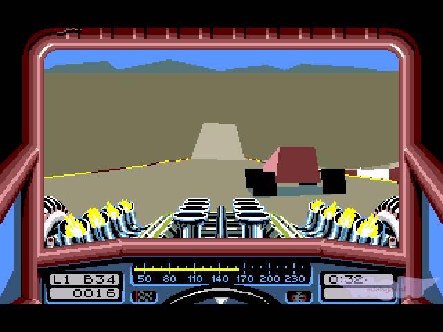 Amiga Longplay: Stunt Car Racer