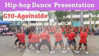 Maa NHS Grade10 Aguinaldo Hip hop dance Presenation