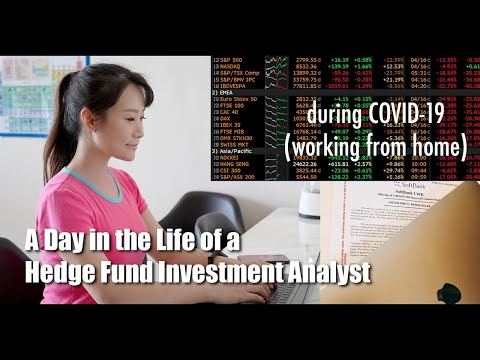 A Day in the Life of a Hedge Fund Investment Analyst - Working From Home (due to COVID-19) REPOST