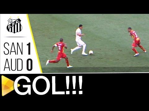 Santos 1 x 0 Audax | GOL | Paulistão (08/05/16)