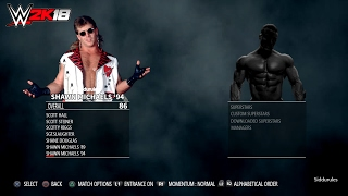 WWE 2K18 Legends Roster (WWF/E+WCW+ECW) for Playstation 4 and X box one prediction/wishlist