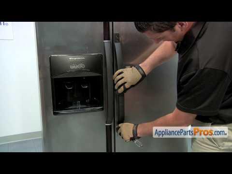 Refrigerator Door Handle (part #218762703) - How To Replace