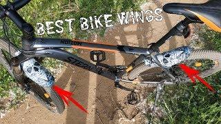 Мини крылья для велосипеда из Китая \ Крылья пыльники с Aliexspress