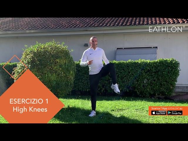 Esercizi di riscaldamento per gambe e glutei