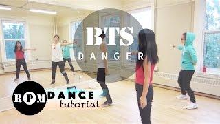 "BTS ""Danger"" Dance Tutorial (Chorus)"