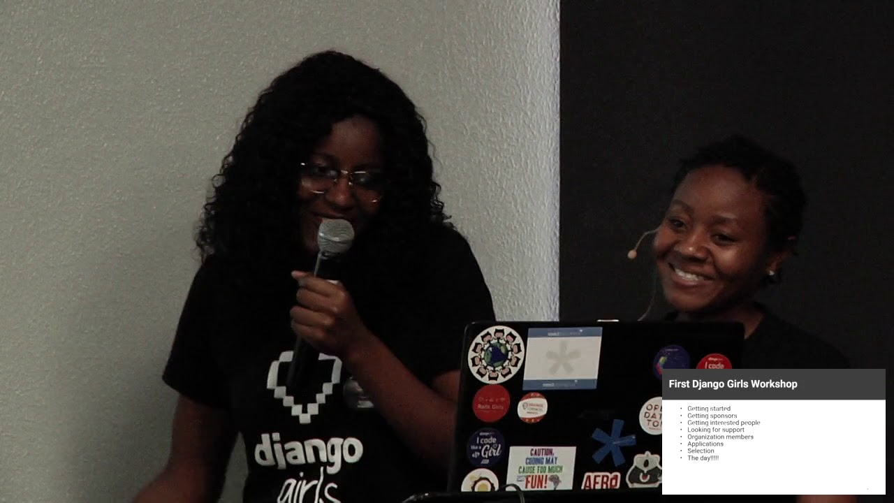 Image from Bring Django Girls Workshop to Mozambique.