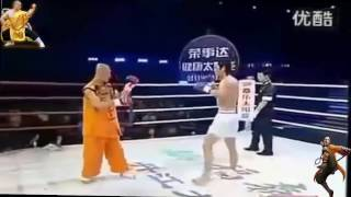 МОНАХИ ШАОЛИНЯ НАКАЗАЛИ БОЙЦОВ MMA
