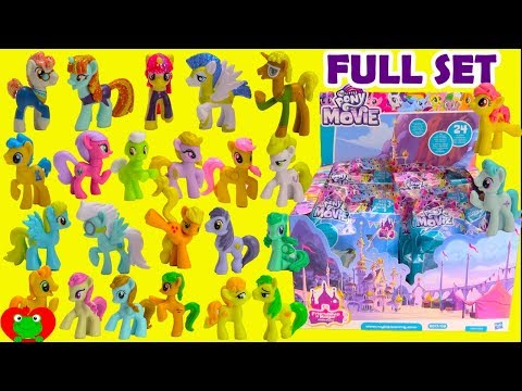 My Little Pony Movie 2017 Full Set Blind Bags Wave 21