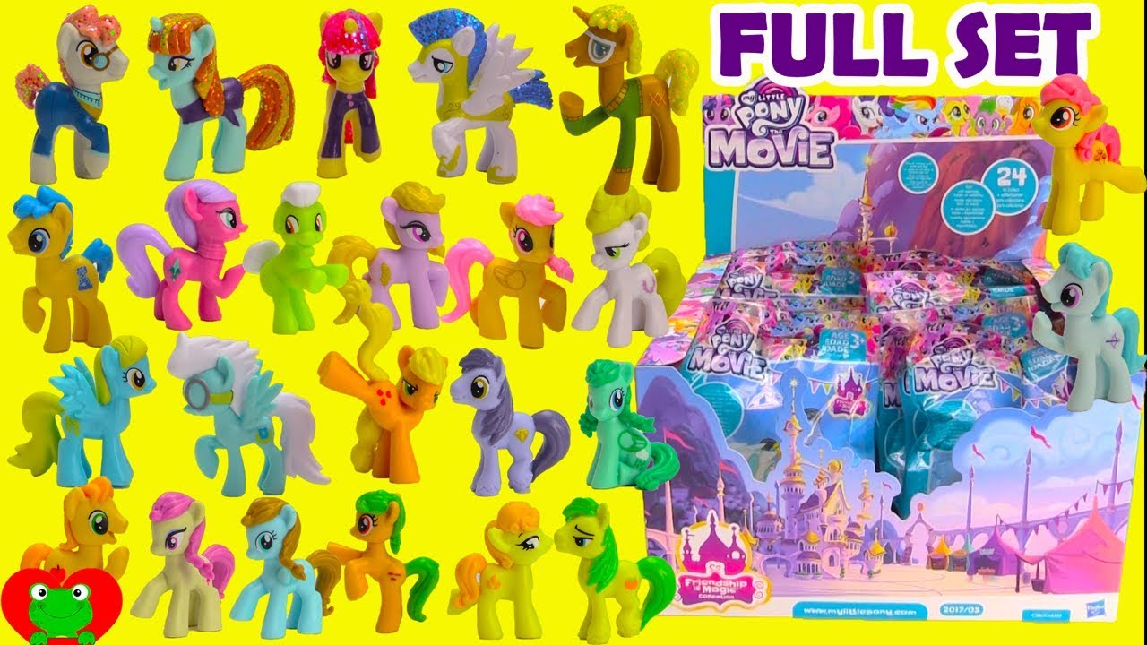 My Little Pony Movie 2017 Full Set Blind Bags Wave 21 Youtube