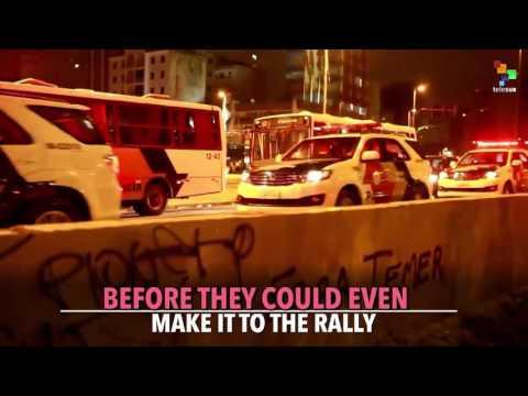Police Repress Major Anti-coup Protest in Brazil