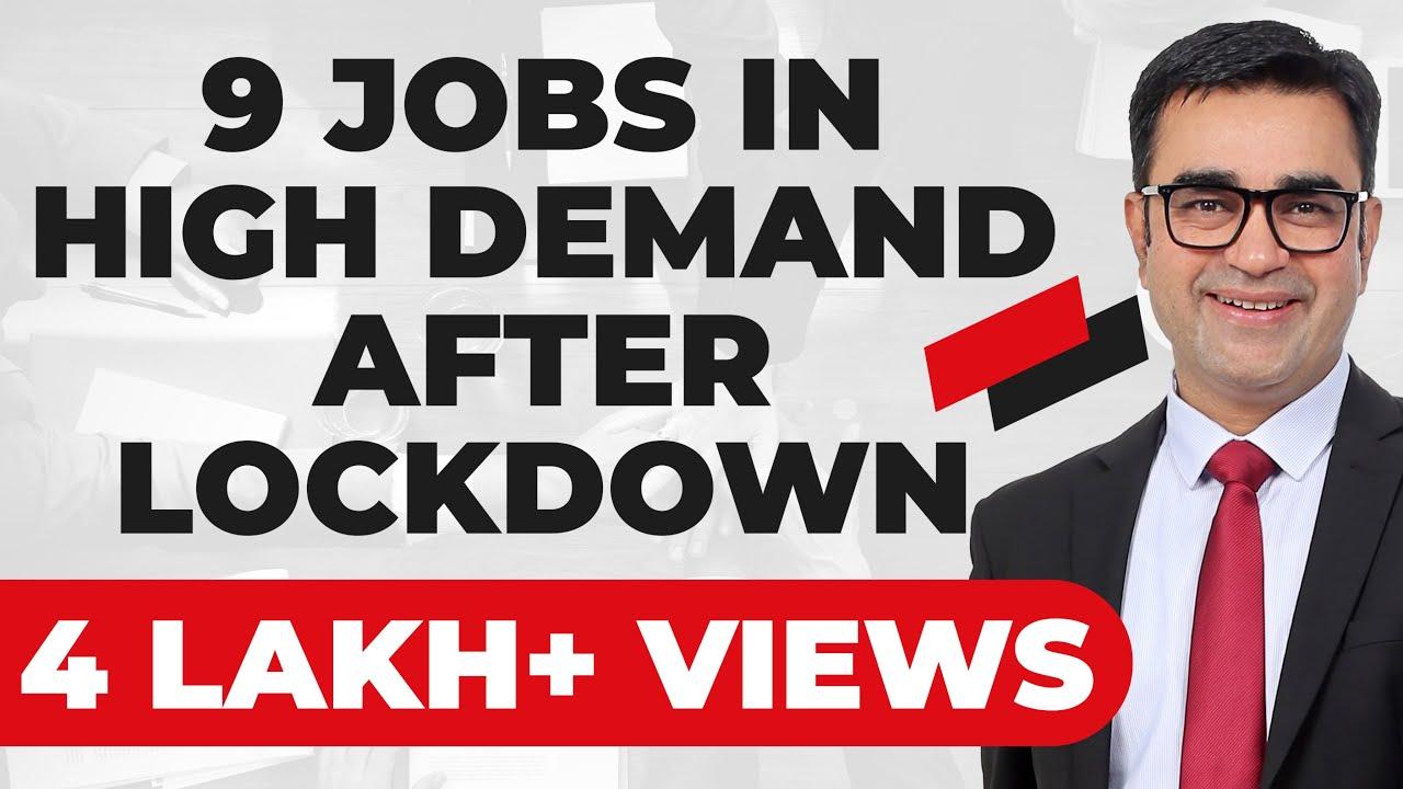 9 JOBS IN HIGH DEMAND AFTER LOCKDOWN   JOBS THAT PAY   DEEPAK BAJAJ