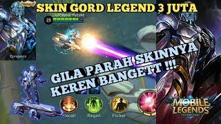 NEW SKIN GORD LEGEND - MOBILE LEGENDS INDONESIA