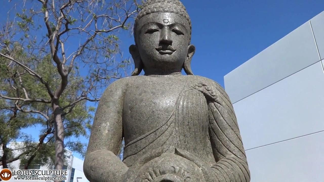Buddha stone garden statue holding water jug fountain www buddha stone garden statue holding water jug fountain lotussculpture workwithnaturefo