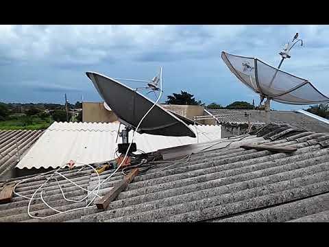 Apontamento Satelite Starone C3 com Satlink6933