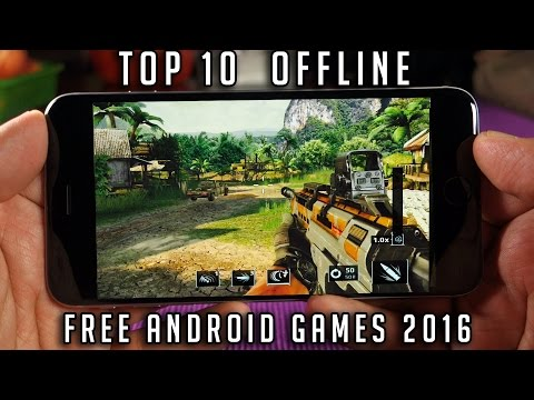 Top 10 Free Offline Android Games 2016 | Best Offline Android Games