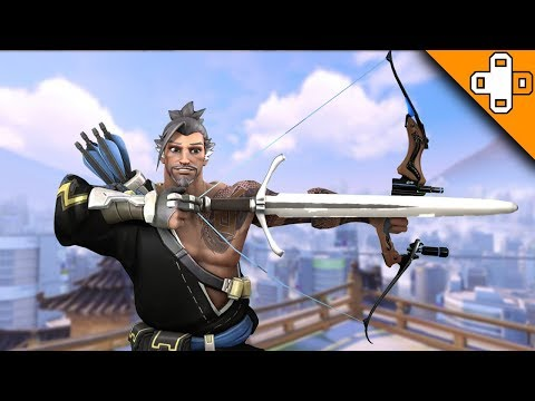 Hanzo's Bow Gets an UPGRADE! Overwatch Funny & Epic Moments 705
