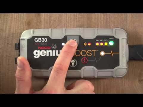 how-to-jump-start-a-car-battery---noco-genius-boost-gb30-ultrasafe-lithium-jump-starter