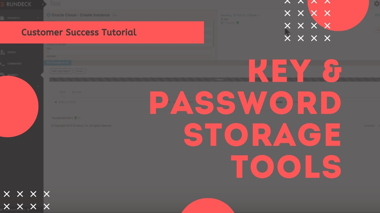Rundeck Key and Password Storage Tools, plus Vault Plugin