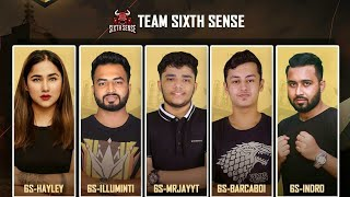 TEAM SIXTH SENSE- FREEFIRE ESPORTS-INTERVIEW