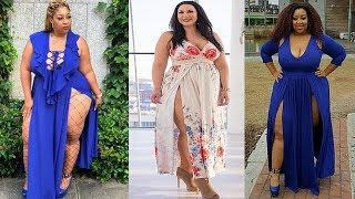 Plus Size Maxi Dress Outfit Ideas - Plus Size Fashion Style
