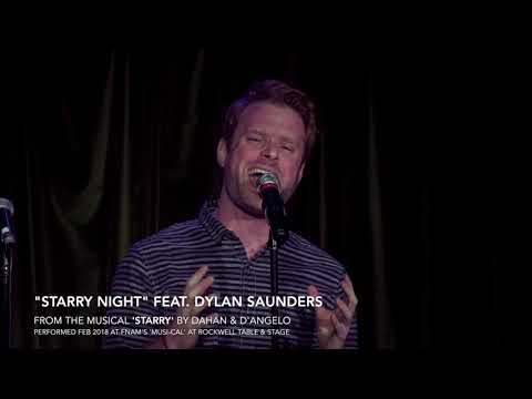 """Starry Night"" - feat. Dylan Saunders as Vincent from the new musical, ""Starry"""
